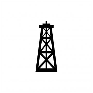 Oil Rig Black Icon On White Background Vector Illustration For Website Mobile Application Presentation Infographic Petroleum Gasoline Derrick Concept Sign Gra Design Element Website Icons Vector Illustration