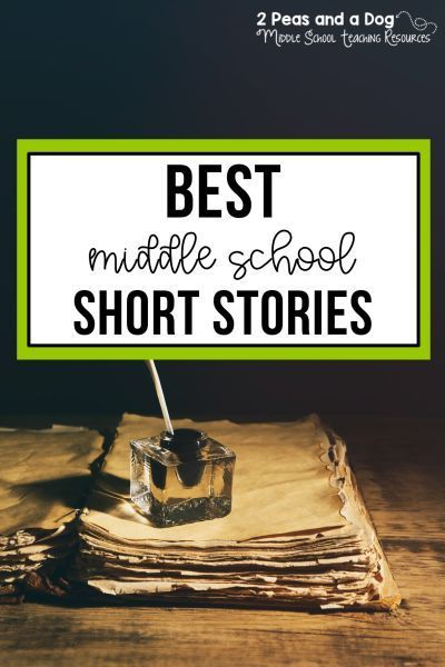 Best Short Stories For Middle School Students | Struggling