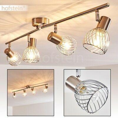 6-flammige LED Decken Leuchten Flur Strahler Wohn Schlaf Zimmer Spot verstellbar