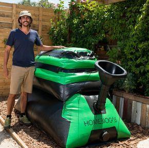 Homebiogas 2 0 Maquina Domestica Para Convertir Tu Restos De Comida En Biogas Y Fertilizante Renewable Energy Biomass Energy Alternative Energy