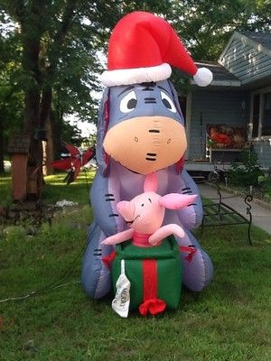 99 best christmas air blown decorations images on pinterest christmas inflatables christmas yard decorations and holiday decor - Disney Christmas Blow Up Yard Decorations