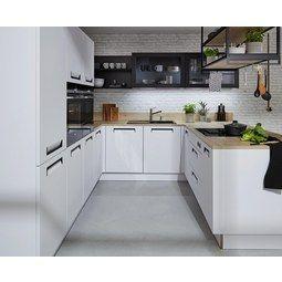 Einbauküche Nolte Integra Weiß - Weiß (305/290cm) - NOLTE ...