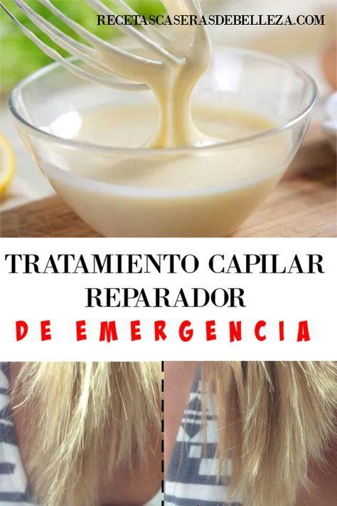 Tratamiento Capilar Reparador De Emergencia Tratamiento Capilar