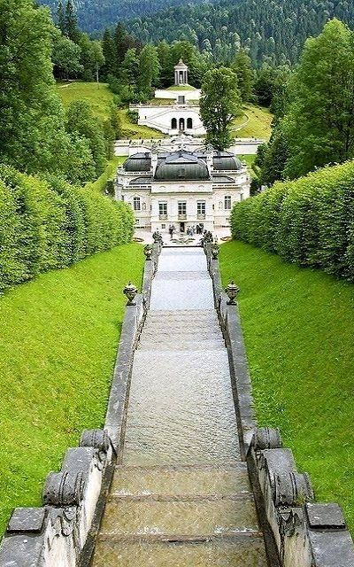 Linderhof Palace Ettal Bavaria Germany Places To Travel Beautiful Places Places To Go