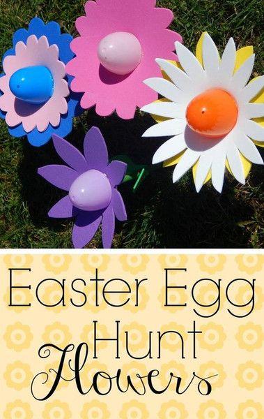Easter Egg Hunt Flowers - Creative Easter Egg Hunt Ideas  - Photos