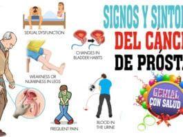 cáncer en la próstata síntomas