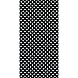 4 Ft X 8 Ft Black Garden Vinyl Lattice 189723 The Home Depot In 2020 Decorative Screen Panels Plastic Lattice Decorative Screens