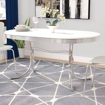 Kenzo Counter Height Dining Table With Images Retro Kitchen