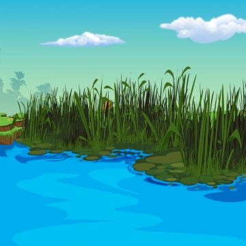 Natural Scenery Small Rivers And Rivers Cartoon Small River Scenery Illustration Riverside Scenery Summer River Png Transparent Clipart Image And Psd File For In 2020 Waterfall Background Nature Background Images Blur