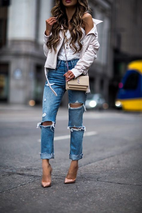 9954641d8ee1 fashion blogger mia mia mine wearing grlfrnd denim from revolve and christian  louboutin so kate heels