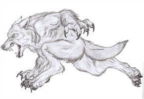Werewolf Running Ghost By Urbanvixenuk In 2019 Werewolf