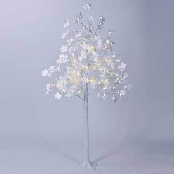 Patch Magic White Birch Artificial 240 Lighted Trees Branches Lighted Tree Branches Cherry Blossom Light Tree Ceiling Medallions