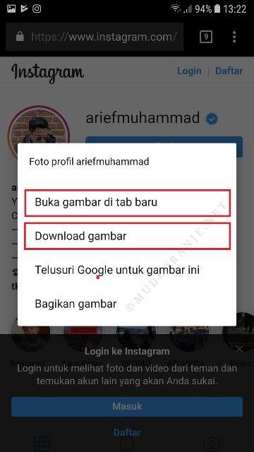 Musdeoranje Net Cara Melihat Foto Profil Instagram Orang Secara Penuh Instagram Gambar Profil