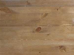 Stained Yellow Pine Flooring