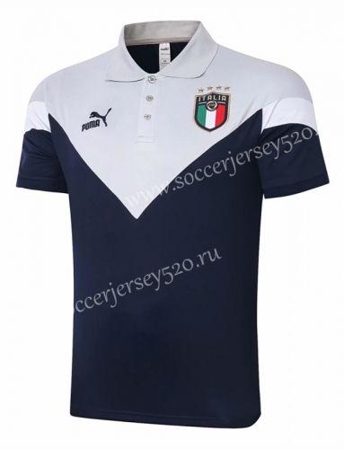 2020 2021 Italy Royal Blue Thailand Polo Shirt 815 In 2020 Polo Shirt Polo Royal Blue