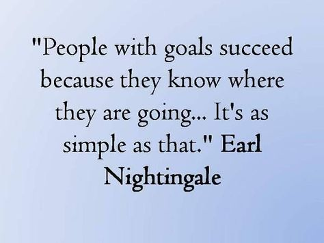 People with goals succeed because they know where they are going. It's as simple as that. #Quote #Motivation #Health