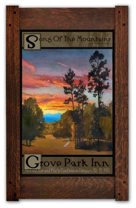Beautiful Landscape Desert Rocks Tree Wall Art Panel Poster Print 47X33 Inches