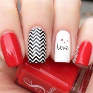 27 So Pretty Nail Art Designs For Valentine S Day My Stylish Zoo Nail Nails Nailart Nailpo Nail Designs Valentines Valentines Nails Valentine S Day Nails