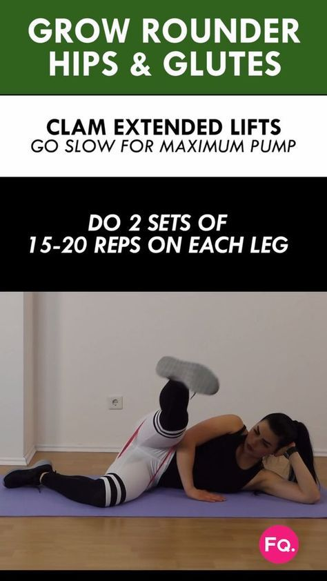 If you're not doing the right moves, you will never hit the gluteus medius properly. It's the smallest gluteal muscle and if you work it the right way you will be able to develop rounder and curvier glutes. This 8 minute workut will do just that! You can do the entire routine or just add it as a finisher to your current butt workout. To get maximum glute pump you can do the whole routine 2 times.
