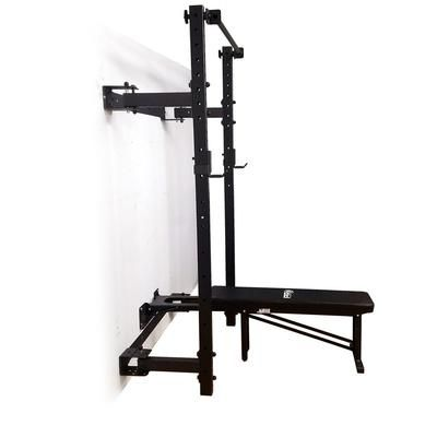 Prx Wall Mounted Murphy Squat Rack With Pull Up Bar Prx Performance In 2020 Pull Up Bar Gym Room At Home Up Bar
