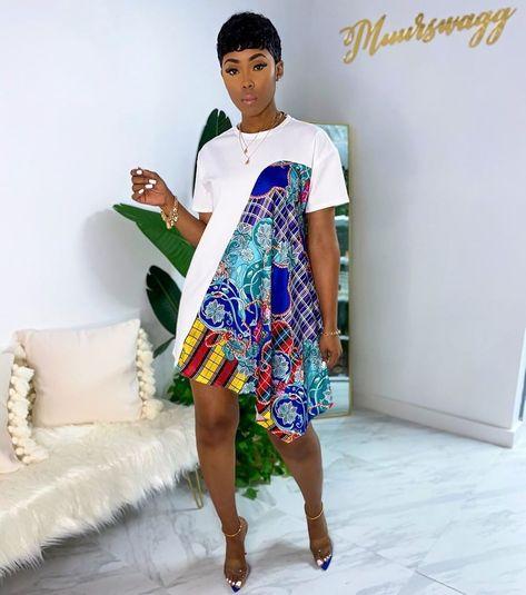 African Fashion Ankara, Latest African Fashion Dresses, African Inspired Fashion, African Print Fashion, Africa Fashion, African Print Skirt, African Print Dresses, Short African Dresses, African Attire