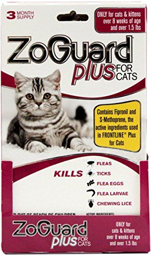 Zoguard 3 Pack Cat Over 15 Lbs Find Out More About The Great Product At The Affiliate Link Amazon Com On Image Cat Fleas Cat Fleas Treatment Cat Flea Remedy