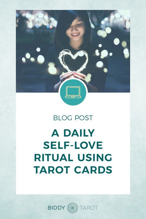 If you want to give your self-love an extra boost, try out this daily self-love ritual. It's perfect for reaffirming all the beautiful parts of yourself and why you are ever so deeply in love with yourself. #selflove #tarot #valentinesday #love #biddytarot #tarottribe #learntarot #mastertarot #tarotjournal #tarotjourney #tarotcards #tarotspread #tarotmagic #tarotdeck #everydaytarot #taroteveryday #tarotinspiration