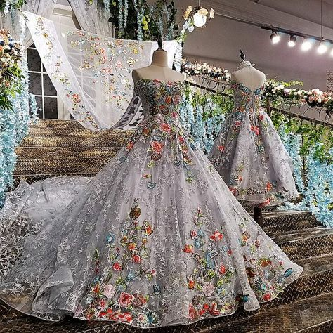 Online Shop Real Photo 2017 Gray High Quality Luxury Lace Applique Wedding Dress Vintage Cathedral Train Ball Gown Bridal Gowns with Shawl | Aliexpress Mobile