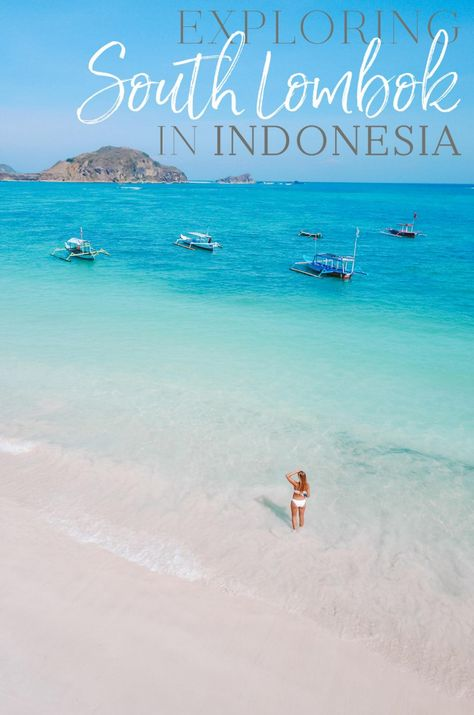 With panoramic views of the bay, there's a reason South Lombok will leave you speechless. Lombok is a small island off the East coast of Bali, in Indonesia. With blindingly white sand and crystal clear water, this tiny island is known for its dive sites and surfing.