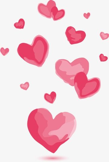 Hand Painted Watercolor Cartoon Heart Cartoon Hand Painted Watercolor Png Transparent Clipart Image And Psd File For Free Download Valentines Wallpaper Cartoon Heart Heart Wallpaper