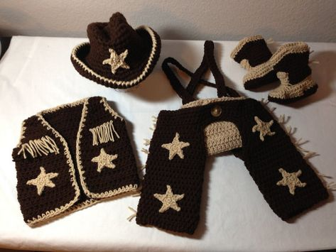 Hey, I found this really awesome Etsy listing at https://www.etsy.com/listing/171048970/crochet-cowboy-outfit-nb-through-6