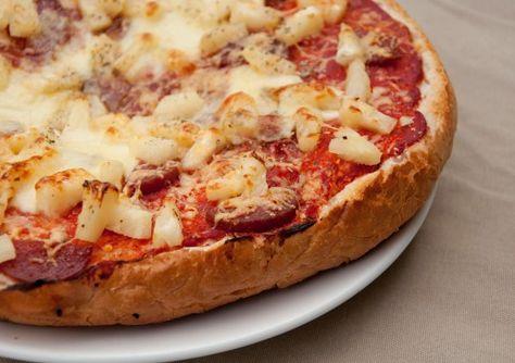Pizza van Turks Brood  Lijkt me heel leuk om eens te proberen!!!