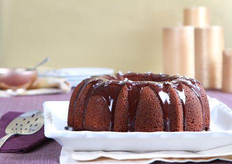 Honey Cake Recipe  at Epicurious.com