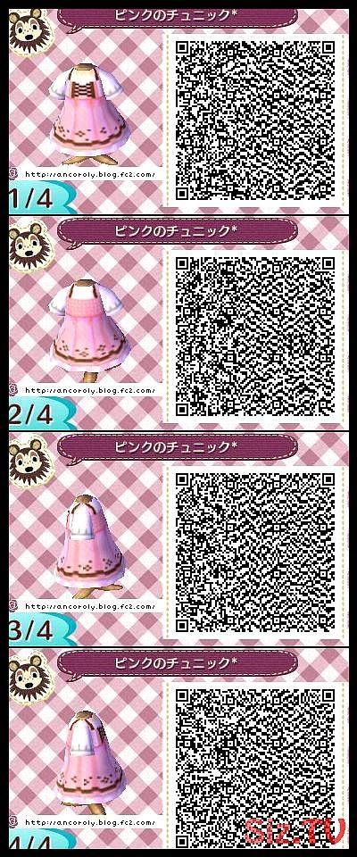 Qr Codes Cute Pink Dress In 2020 Animal Crossing Qr Codes Clothes Animal Crossing Qr Codes Animal Crossing