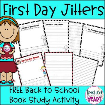 First Day Jitters FREEBIE, Back to School, First Day of