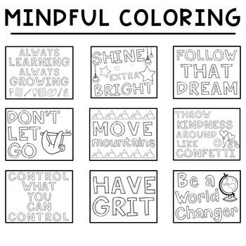 Sel Social Emotional Learning Train Your Brain Coloring Pages Posters Social Emotional Learning Classroom Fun Coloring Pages