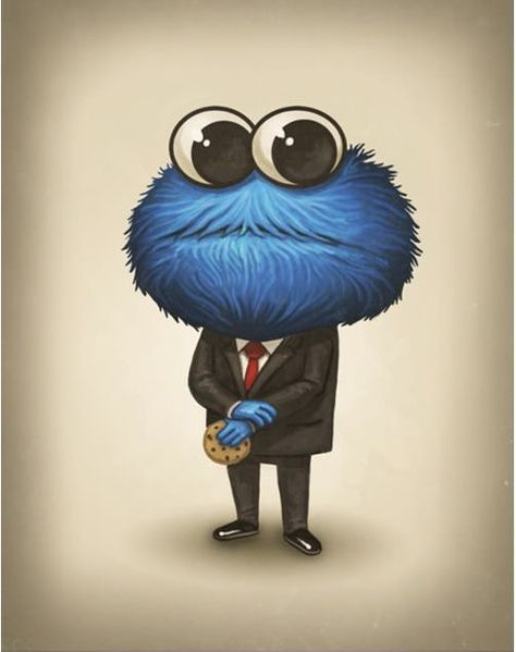 Cookie Monster, like a sir
