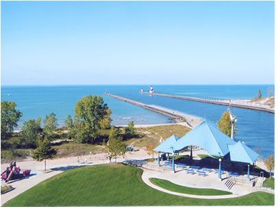 Did You Know That Silver Beach In St Joseph Mi Used To Be An Amut Park Read About The History Here While Re Pinterest