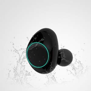 HolyHigh Auricolari Bluetooth Sport Wireless Cuffie Bluetooth Mini Stereo  Cuffie Wireless senza fili con Stazione di 829536f816c0