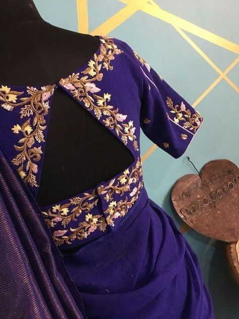 15 Stylish Saree Blouse Back Neck Designs Kurti Blouse Blouse Work Designs Stylish Blouse Design Fashion Blouse Design