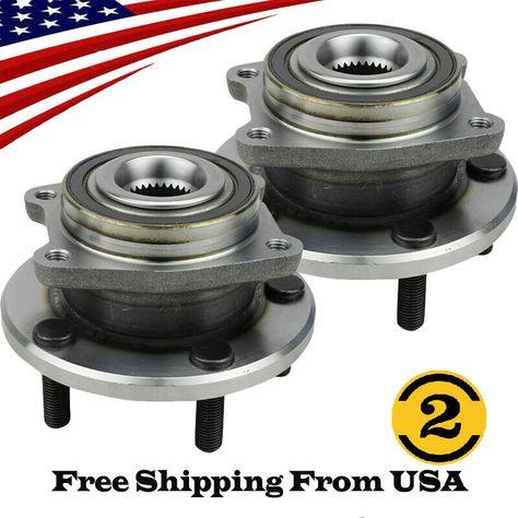Advertisement Ebay Front Wheel Bearing Hub Assembly Pair For 07 10 Chrysler Chrysler Sebring Chrysler Cirrus Chrysler 200
