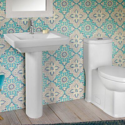 American Standard Boulevard Vitreous China 24 Pedestal Bathroom