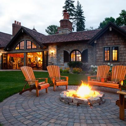 Backyard Fire Pit Ideas Design, Pictures, Remodel, Decor and Ideas - page 2