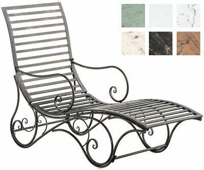 Gartenliege Amiens Sonnenliege Bank Metall Terrasse Liegestuhl Garten Eisenliege Ebay Ikea Outdoor Sonnenliege Gartenliege