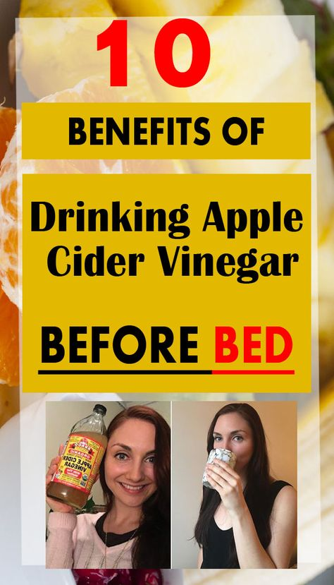 10 Proven Benefits Of Apple Cider Vinegar For Health, Skin use - - Irresistible 10 reasons of Drinking Apple Cider Vinegar Before Bed, and you will never go for buy over the counter medicine again. Apple Cider Vinegar Shots, Apple Cider Vinegar Health, Braggs Apple Cider Vinegar, Apple Cider Vinegar Remedies, Vinegar Detox Drink, Apple Cider Benefits, Benefits Of Cider Vinegar, Apple Cider Pills, Drinking Apple Cider Vinegar