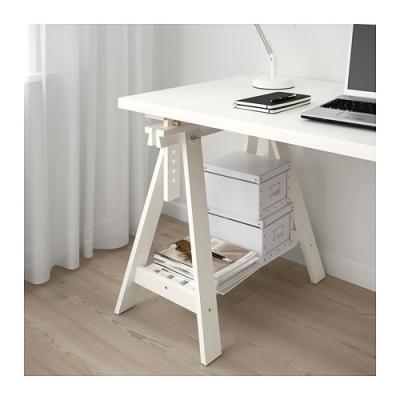 Risultati immagini per scrivania fatta con cavalletti ...