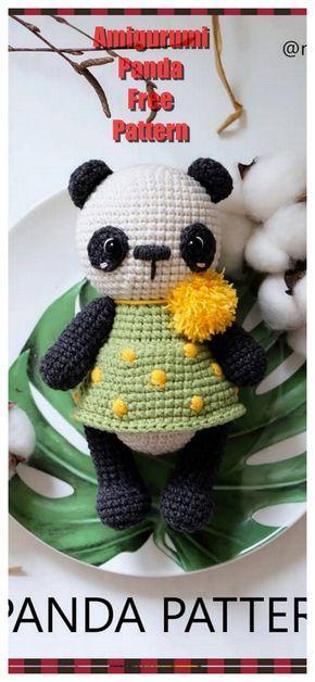 ursinho panda amigurumi parte1 - YouTube | 628x290