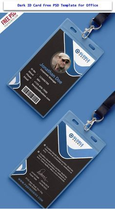 30 Creative Id Card Design Examples With Free Download Id Card