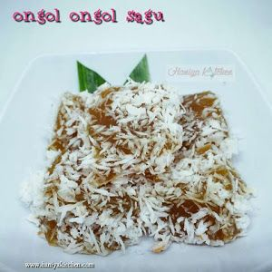 Resep Kue Ongol Ongol Sagu Gula Merah Enak Sederhana Resep Resep Kue Resep Makanan Penutup