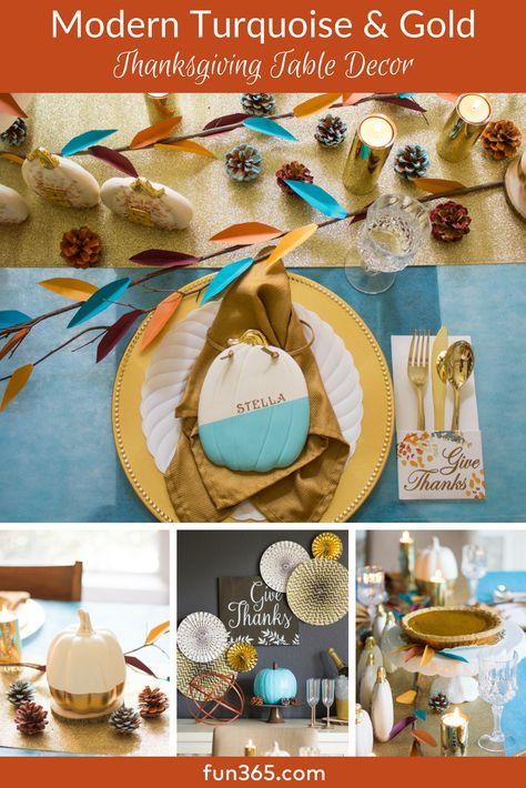 Create A Modern Thanksgiving Table With Beautiful Diy Decor Ideas